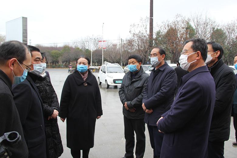 副市长李瑛来我集团检查新冠肺炎疫情防控和重点项目复工情况